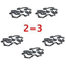 McCulloch PACK-CHO022 - Pack 2 Chaînes 52E - 3/8 1