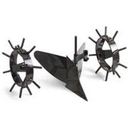 McCulloch 582615325 TAO025 - Kit butteur et roues métal