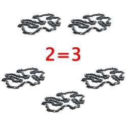 Pack 2 Chaînes 72E - 0,325 1,3mm
