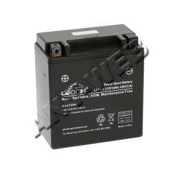 583516701-Batterie sans entretien gel pour tracteur McCULLOCH
