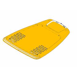 582784301-Plaque de tour de charge pour robot tondeuse McCULLOCH