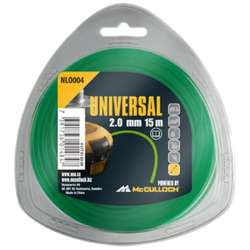 McCulloch 577616304 NLO004 - Fil nylon rond 2mm X 15m