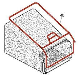 McCulloch 532411951 532407453 - Structure de bac